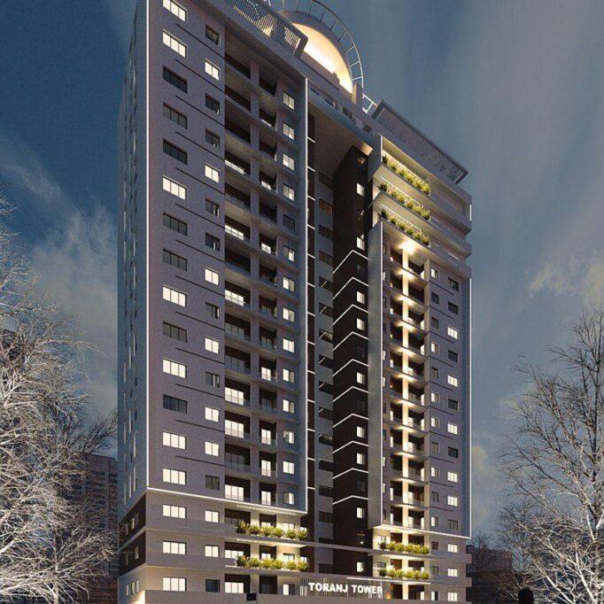 برج مسکونی ترنج (1)